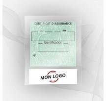 Porte vignette assurance moto
