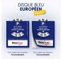 Disque Bleu Européen Adhésif