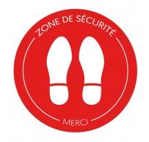 Adhésif Antidéparant - Zone de sécurité